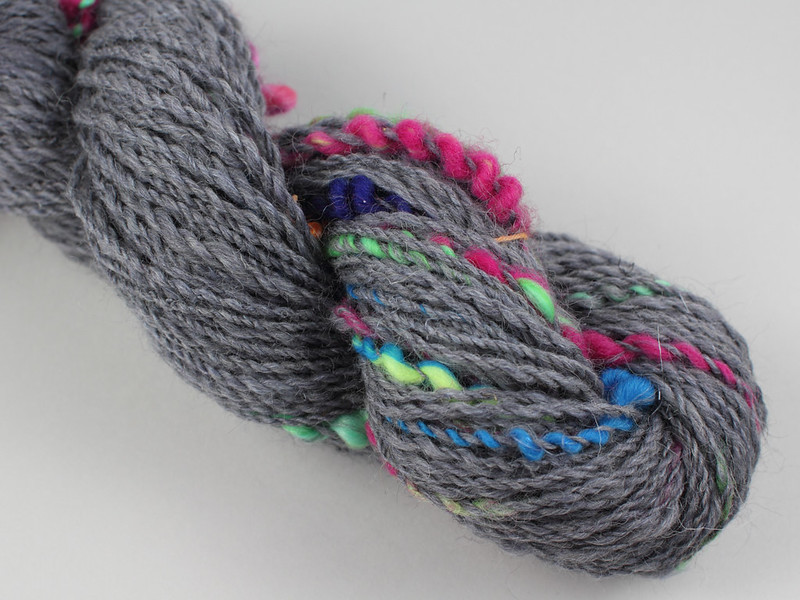 Northern Lights spinalong Skein 4