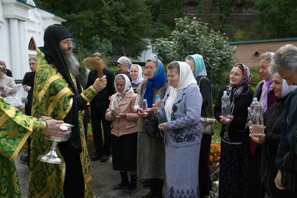 Водоосвящение в день престольного праздника.15 сентября 2014г.