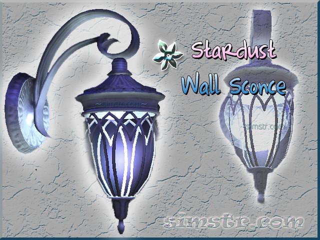 The Sims 2 Apartment Life Apartman Hayatı Witchiness Cadılık Stardust Wall Sconce