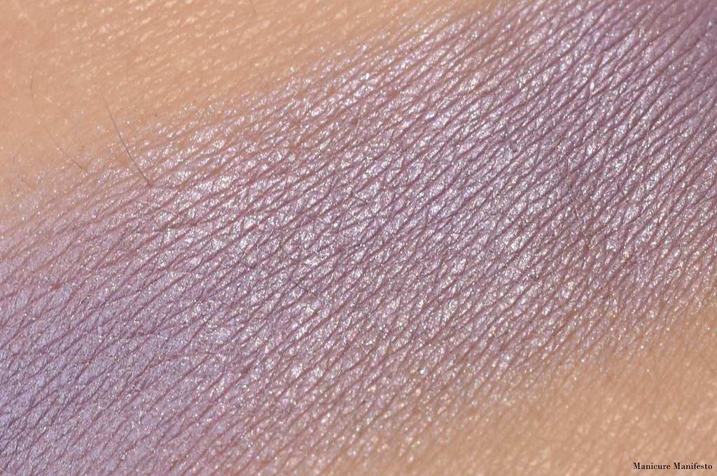 MUFE Lavender swatch