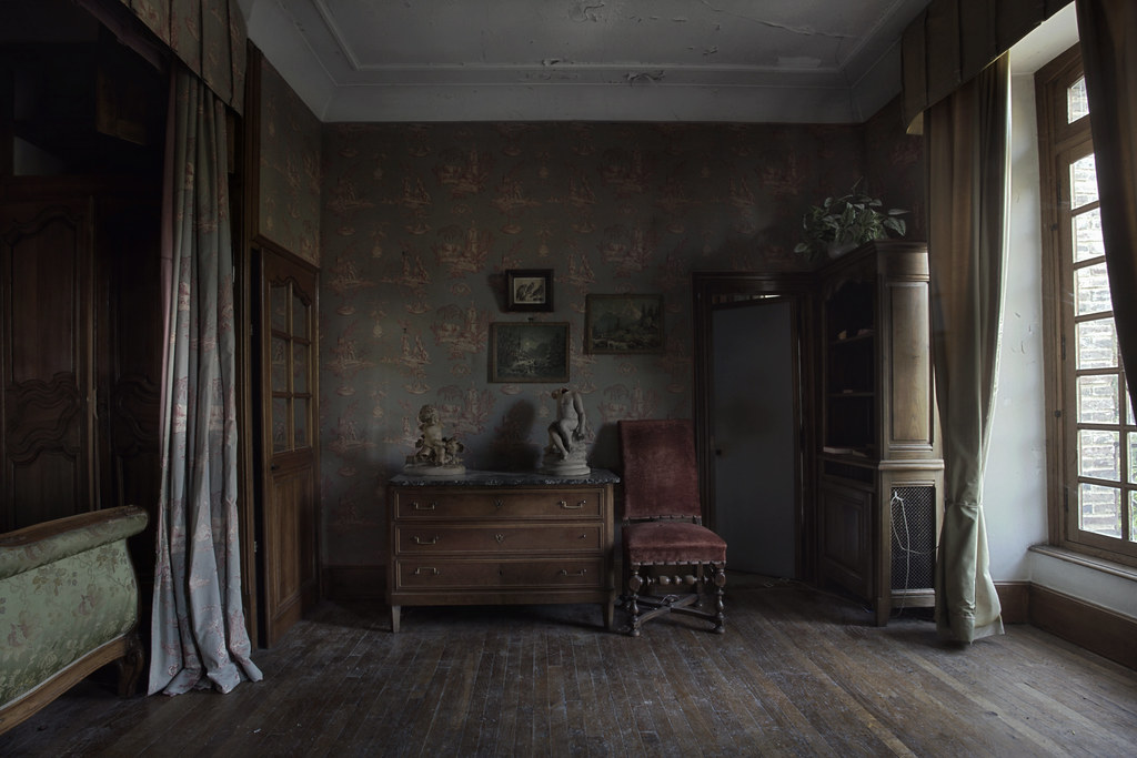 Great Abandoned Mansion Bedroom | By Andre Govia.