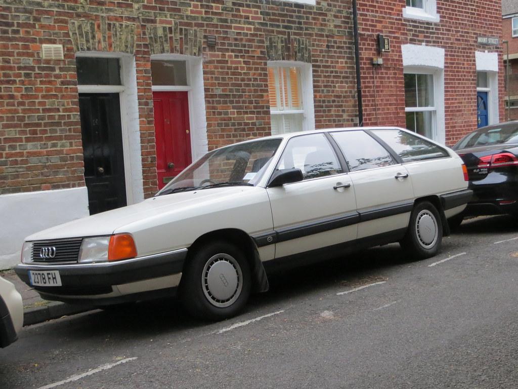 1985 Audi 100 Avant CC 1.8 | A smaller engine than I'd expec… | Flickr