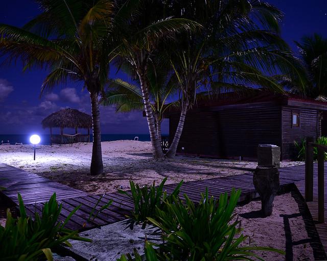 Habitaciones en la playa de Cayo Levisa