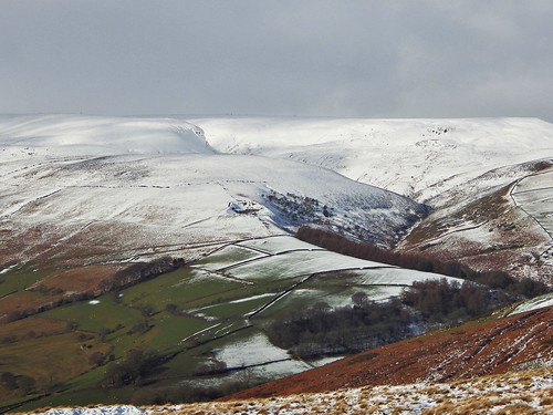Looking towards Kinder Scout