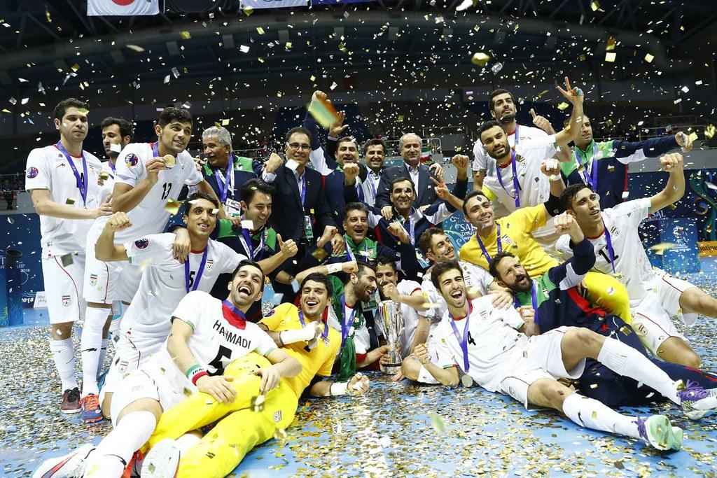 伊朗奪下隊史第12座五人制足球亞錦賽冠軍。(AFC提供)