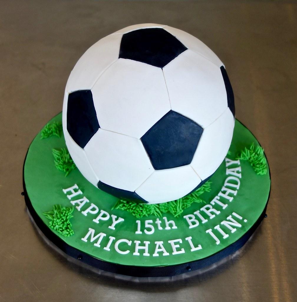 Soccer Ball Birthday Cake Sasa Flickr