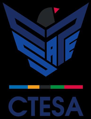 中華民國電子競技運動協會全新識別象徵。(中華民國電子競技運動協會提供)