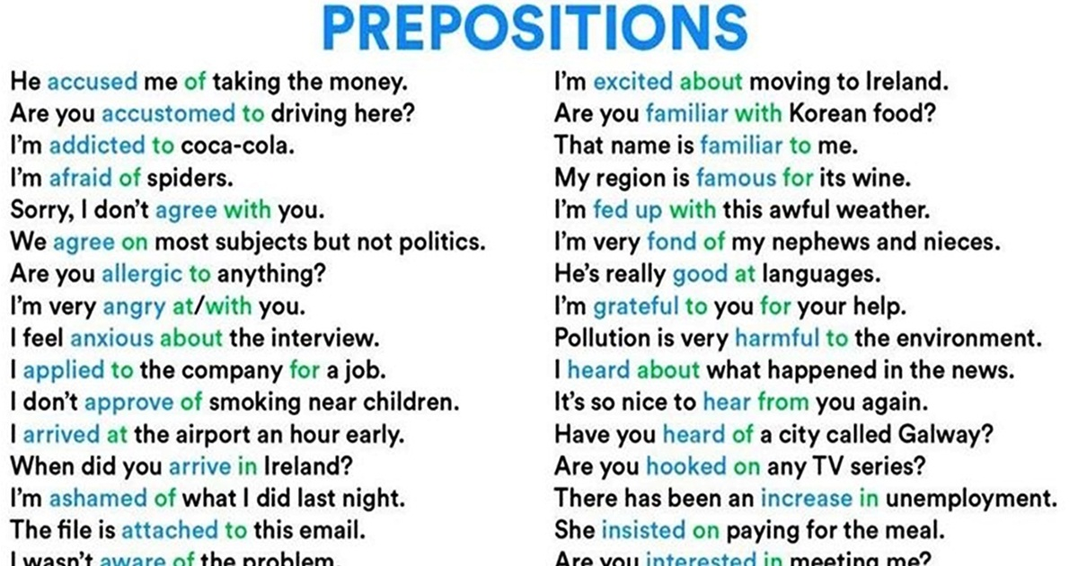 Easy Way to Learn Preposition Collocations 5