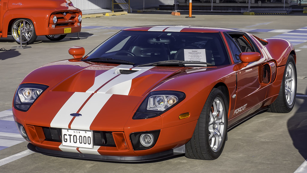 Ford Gt Supercar No  Imported To Australia By Time Off