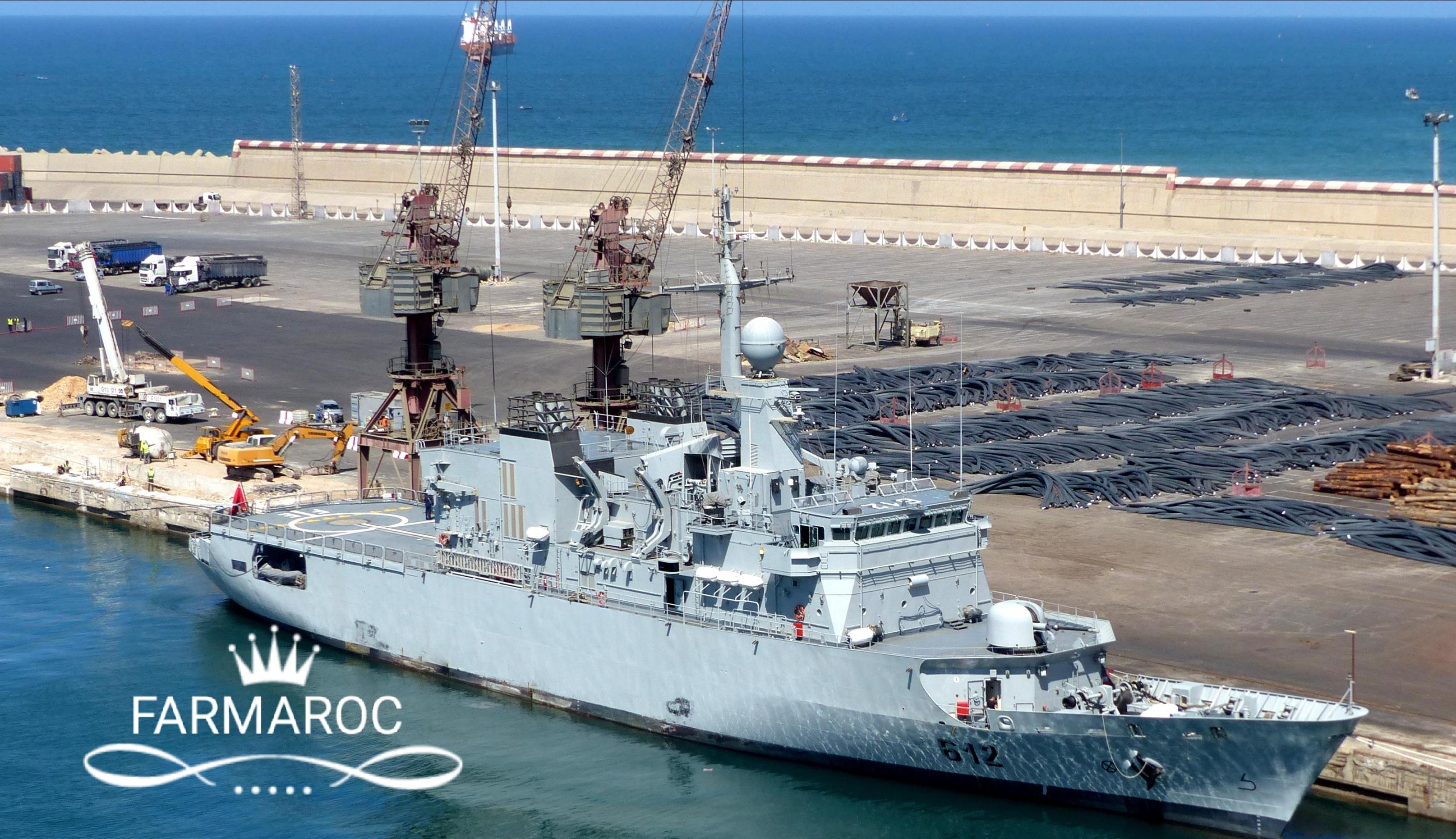 Royal Moroccan Navy Floréal Frigates / Frégates Floréal Marocaines - Page 13 28368525539_2600e38493_o