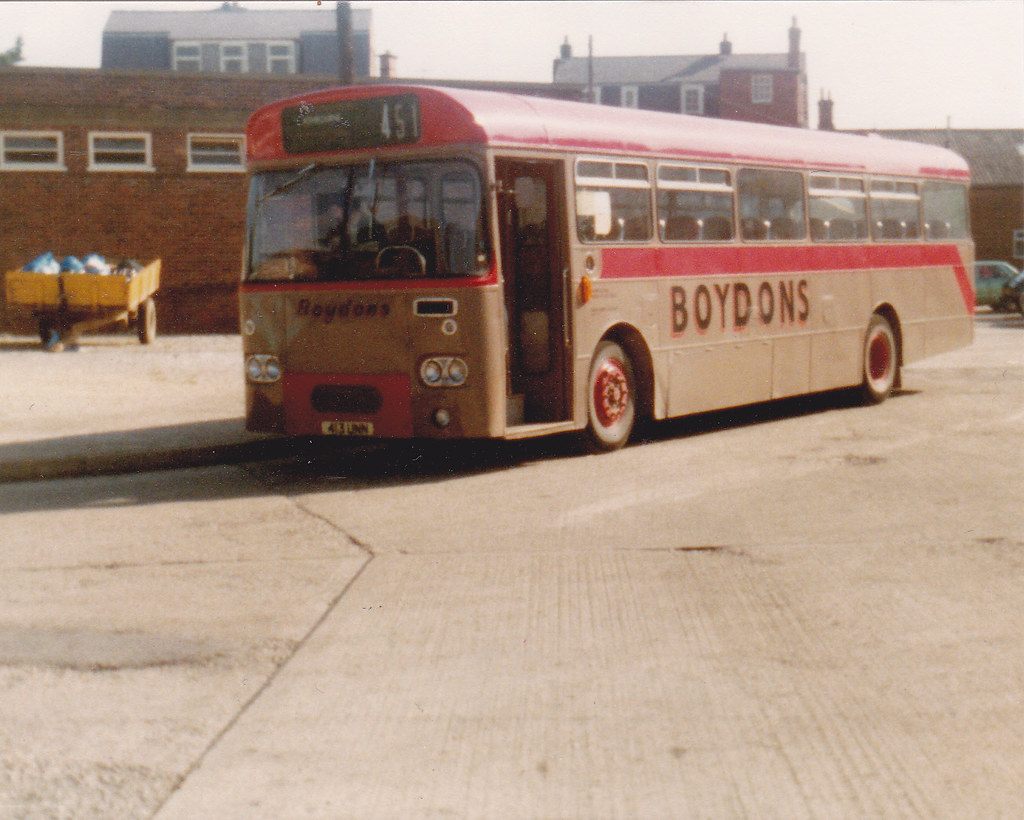 Boydons On Route 451 Ashbourne Bus Station Saturday 28th