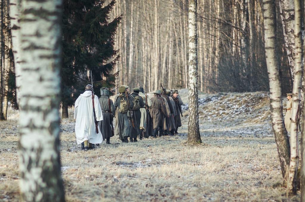 70 foto: Ziemassvētku kaujām 101: Asiņainās cīņas, kad dzima latviešu strēlnieku leģenda