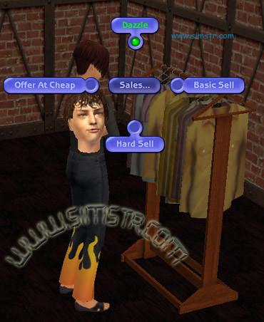 The Sims 2 Open For Business Boutique Store Butik Açmak