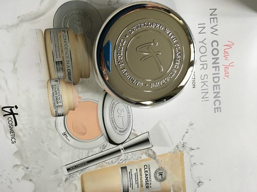 IT Cosmetics New Year New Confidence in Your Skin! 5-Piece Collection QVC Todays Special Value TSV
