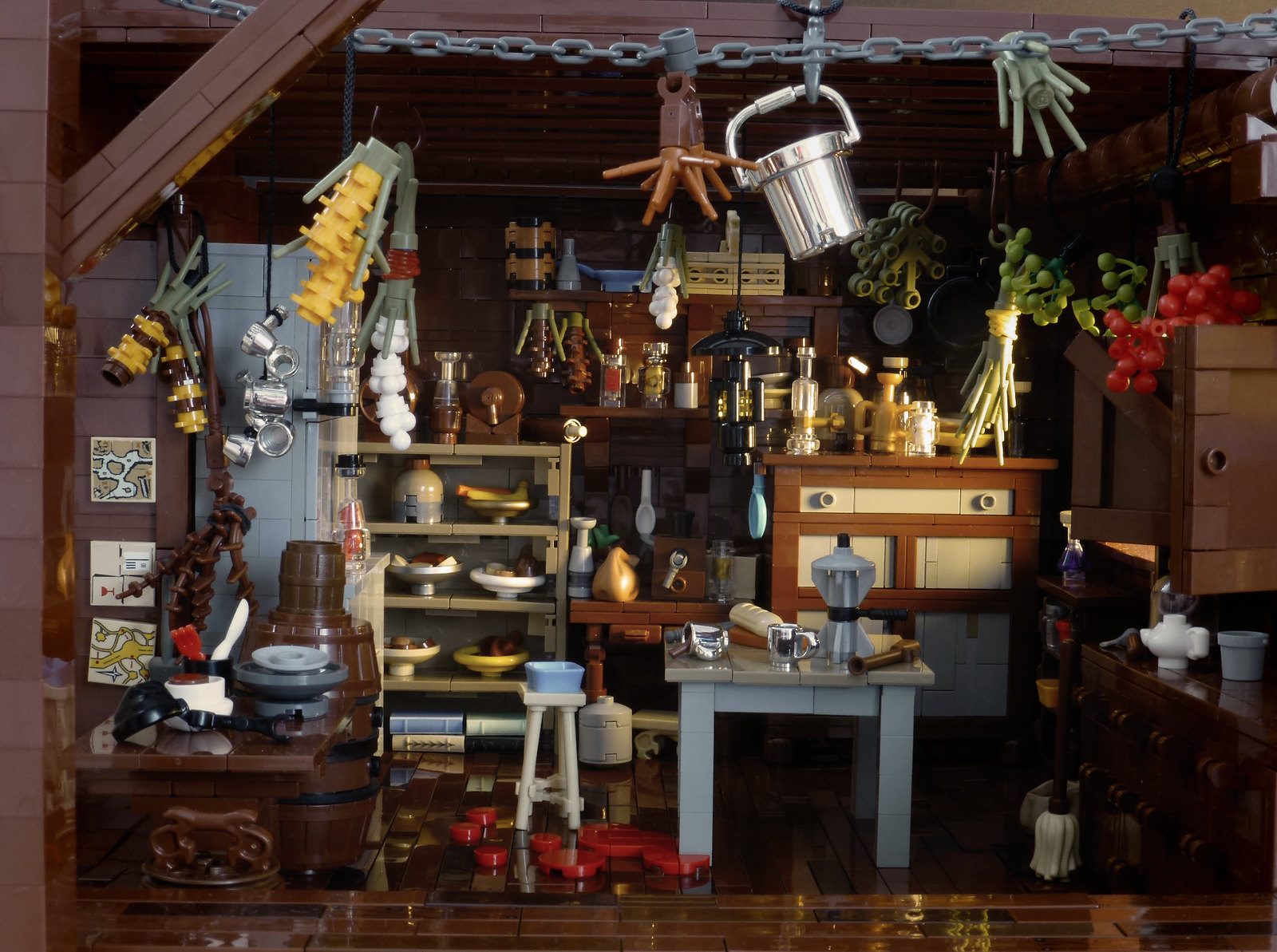 Minnie S Haberdashery From The Hateful Eight In Lego The