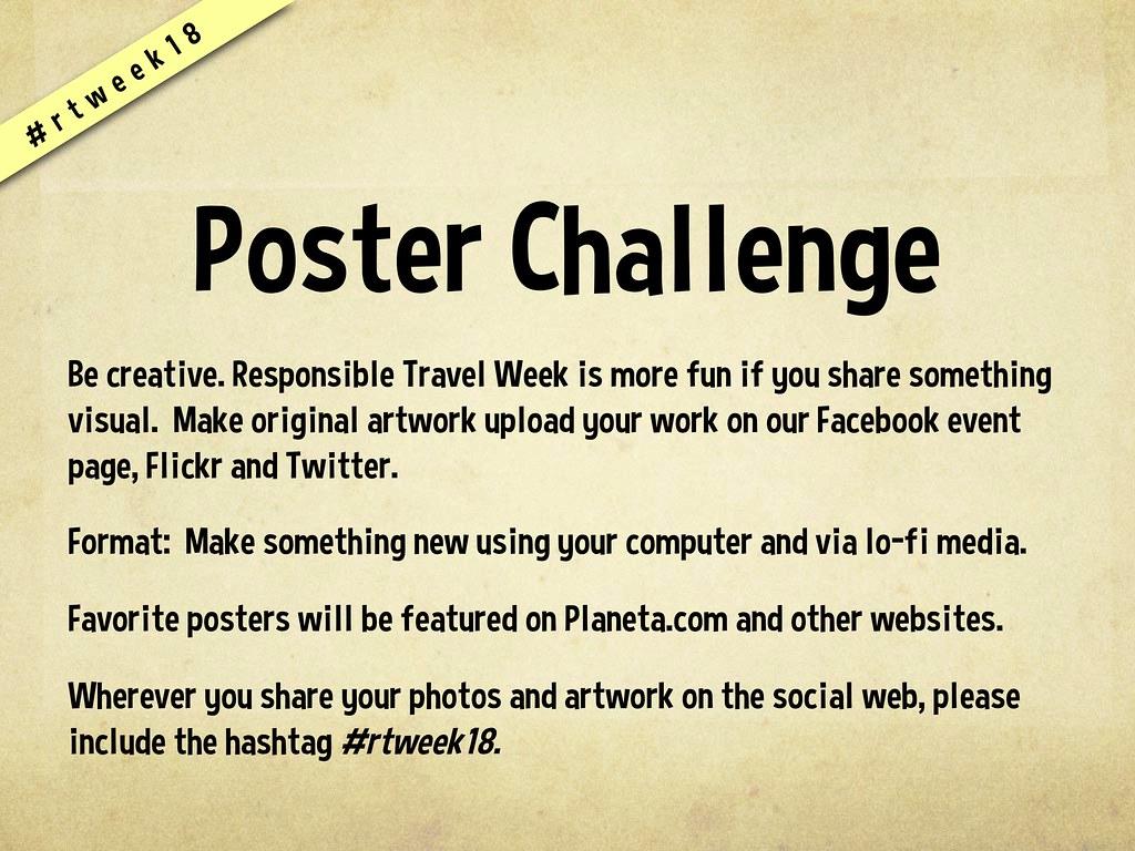 Poster Challenge Rtweek18