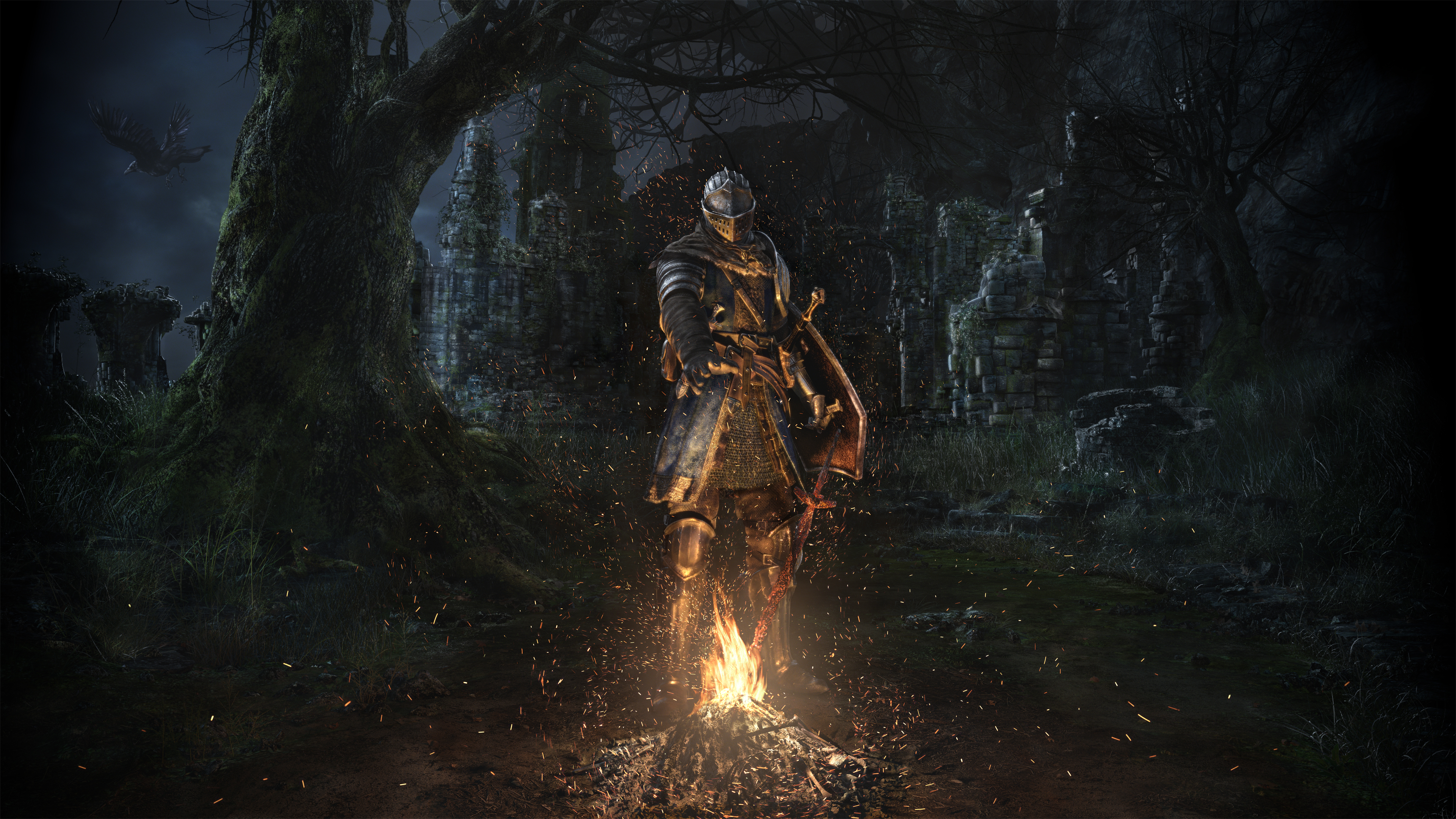 Official Dark Souls Remastered Wallpaper 3840x2160 C1staticflickr