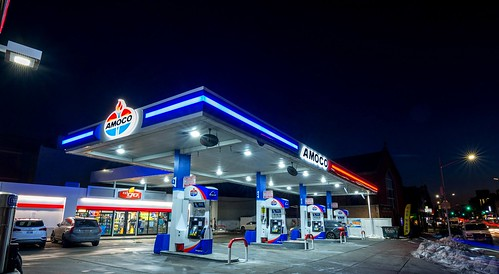 Arco Gas Station >> Amoco gas station | Amoco was discontinued by BP in 1998 aft… | Flickr