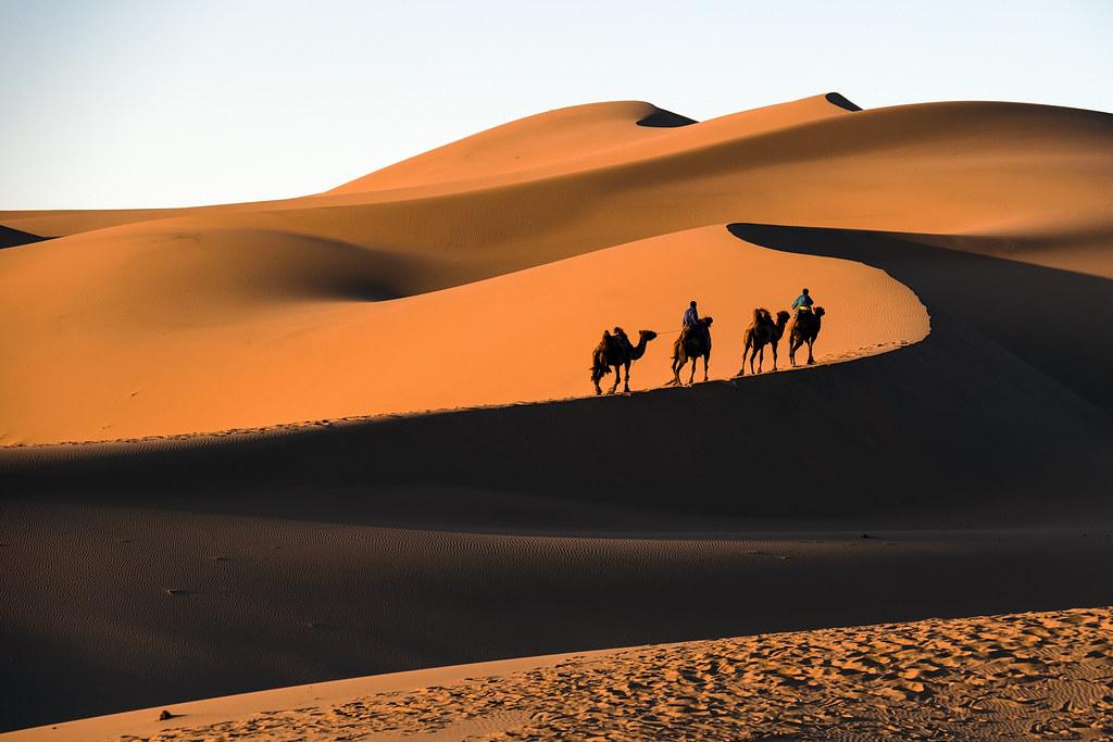 gobi desert mongolia christopher michel flickr