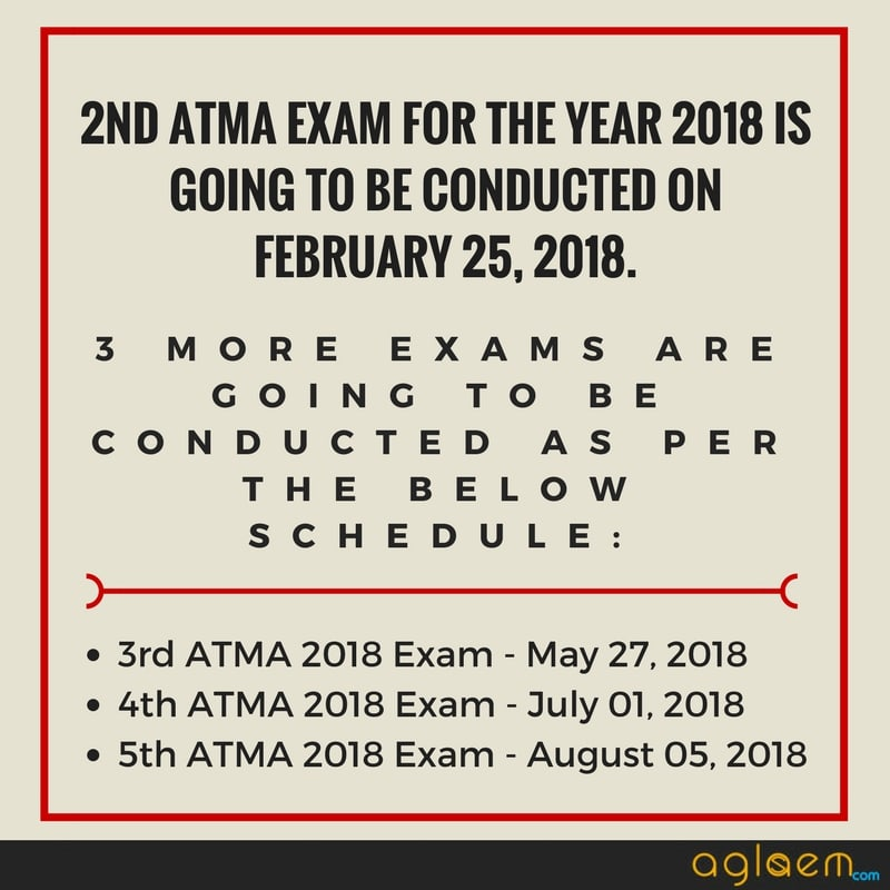 ATMA 2018 Sample Paper