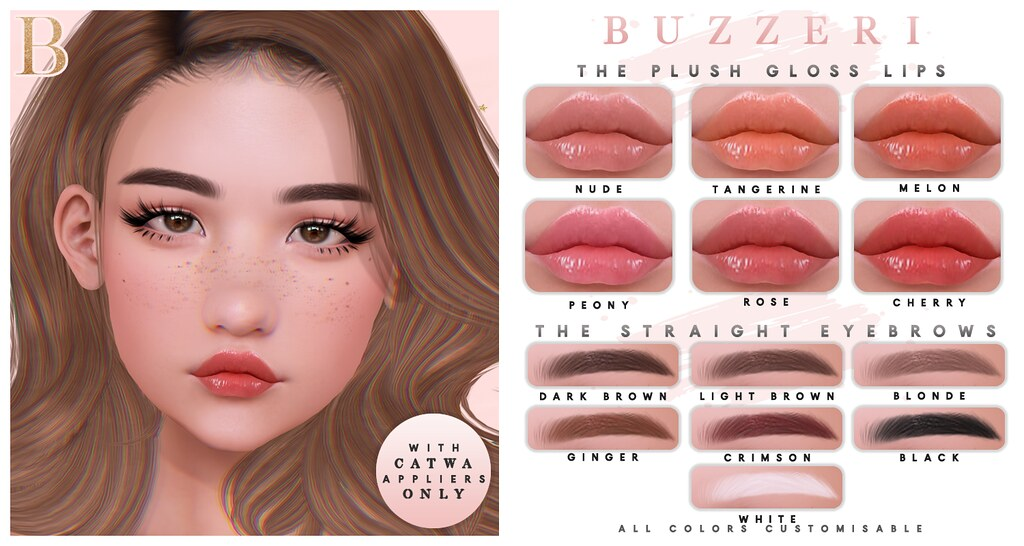 Buzz Plush Gloss Straight Eyebrows Blush Late Postin Flickr