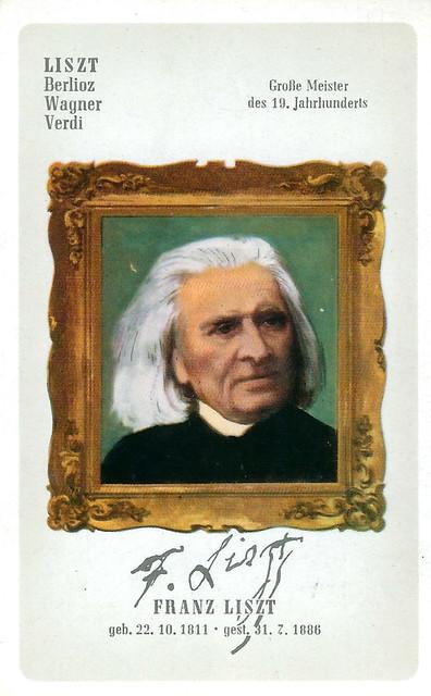 Der Komponist Franz Liszt ist der Namensgeber der Liszt-Äffchen