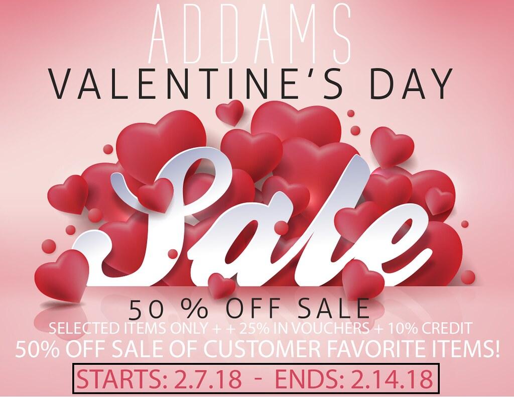 Addams Valentine S Day Sale Addams Valentine S Day Sale Flickr