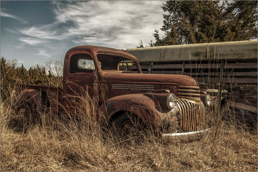 Another old Chevy Truck - Happy Truck Thursday | Taken along… | Flickr