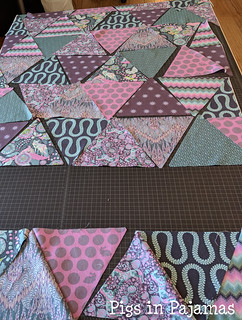 Tula Pink Triangles quilt | by pigsinpajamas