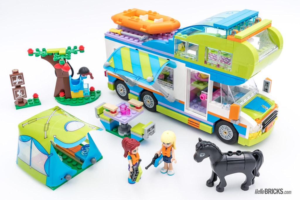 REVIEW LEGO Friends 2018 - LEGO 41339 Mia's Camper Van | Flickr