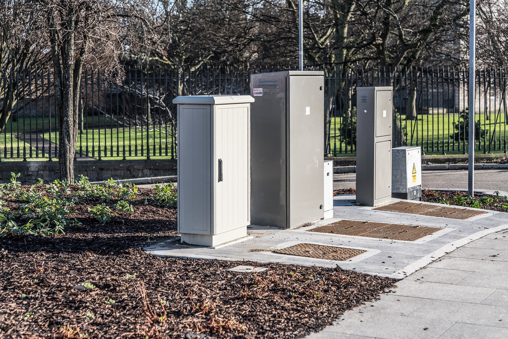 UTILITY CABINETS NEAR THE BROADSTONE TRAM STOP 003