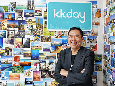Research by Phocuswright projects that the travel tours and activities industry will reach US$183B by 2020 from US$135B in 2016. Photo: Ming Chen, KKday CEO.