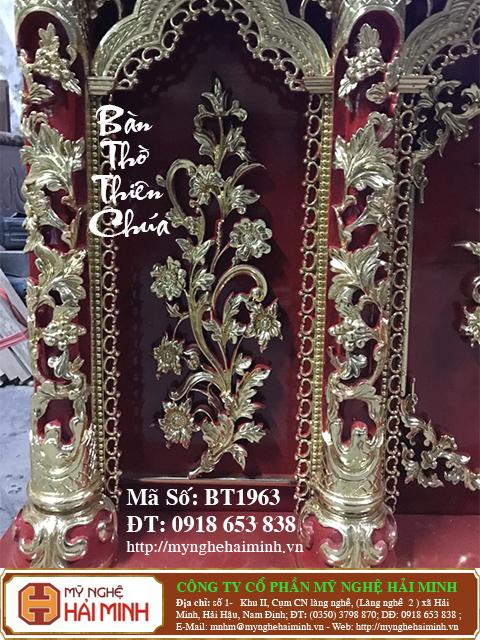 BT1964g Ban Tho Thien Chua do go mynghehaiminh