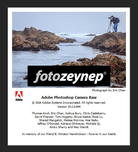 Adobe Camera RAW 10 2 1 direk indirme linkleri – resmi