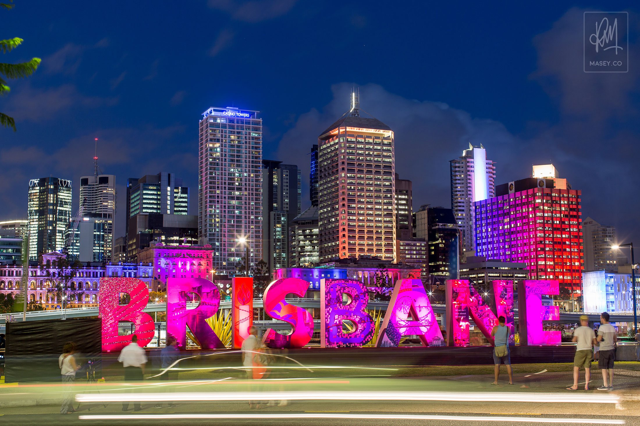 The ever popular Brisbane sign visited by over 25,000 people during the G20 period.