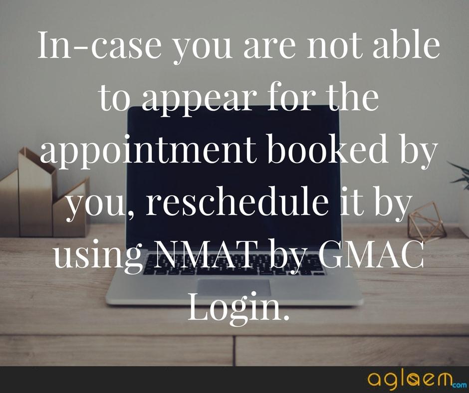 NMAT 2018 Application Form