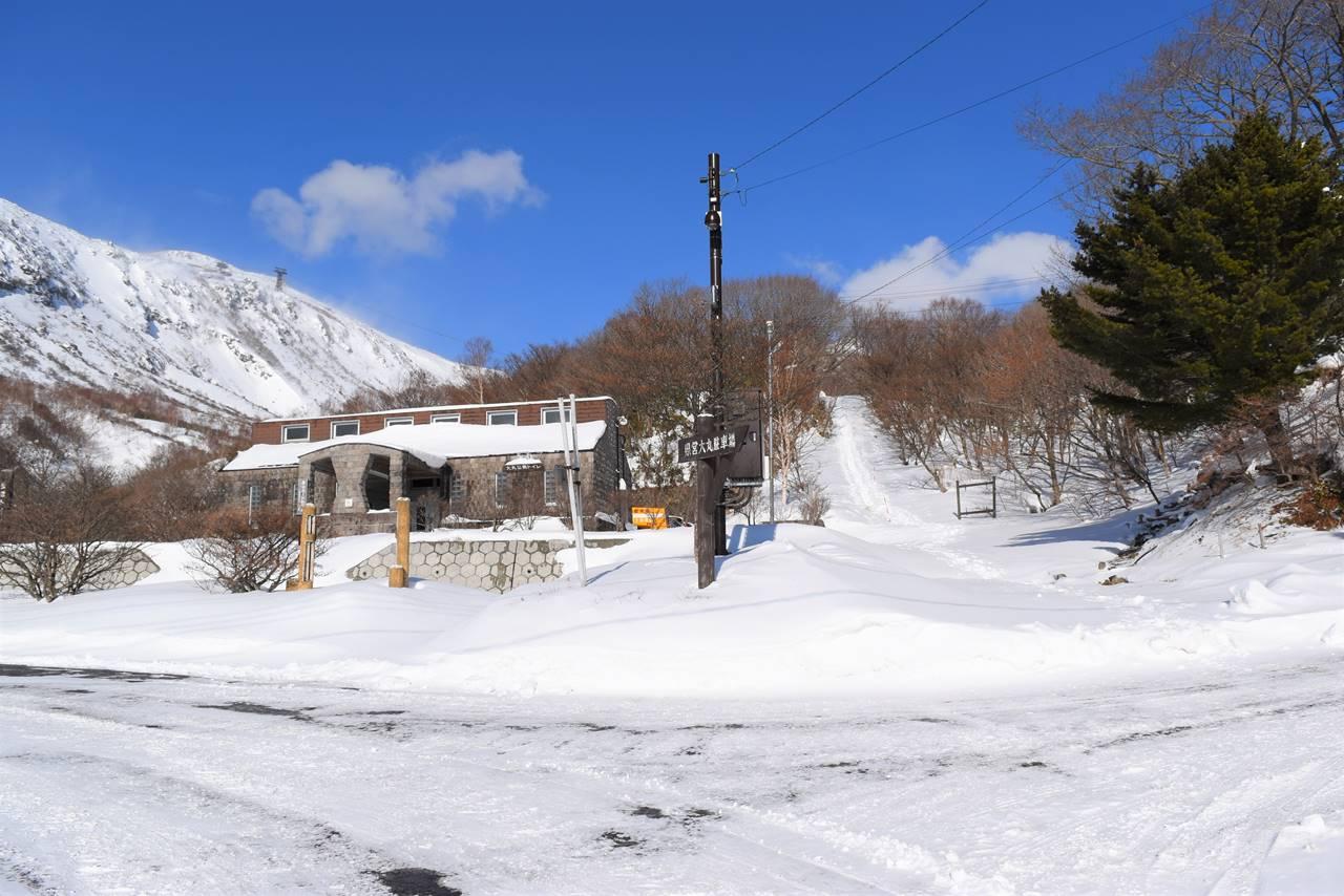 大丸温泉駐車場から那須岳登山開始