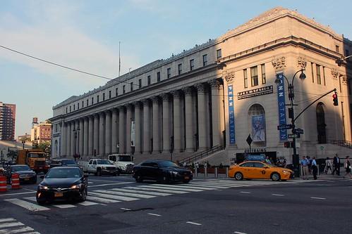 Postkontoret på 8:e avenyn.