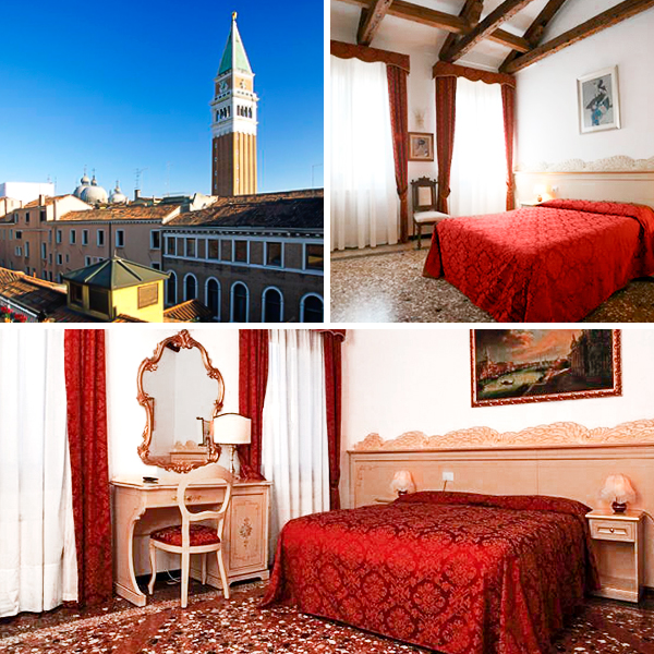Aquavenice, habitaciones venecianas a buen precio en el centro de la ciudad