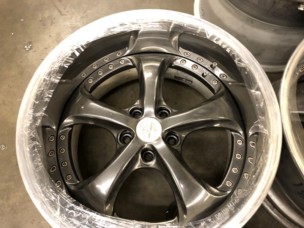 ***Work VS-KF - 18 x 10 +0 / x11 -12 - 5x114.3 - Kingsport Grey*** 39555549972_cf023805a8_b