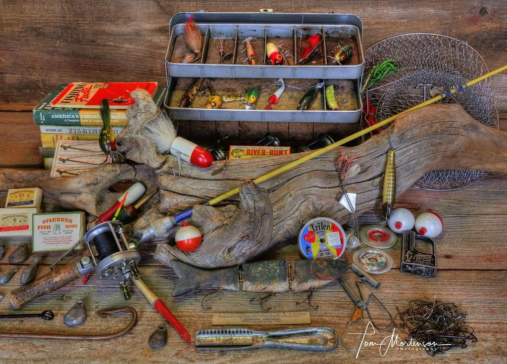 Vintage Fishing Gear My Friend Bob Haase And I