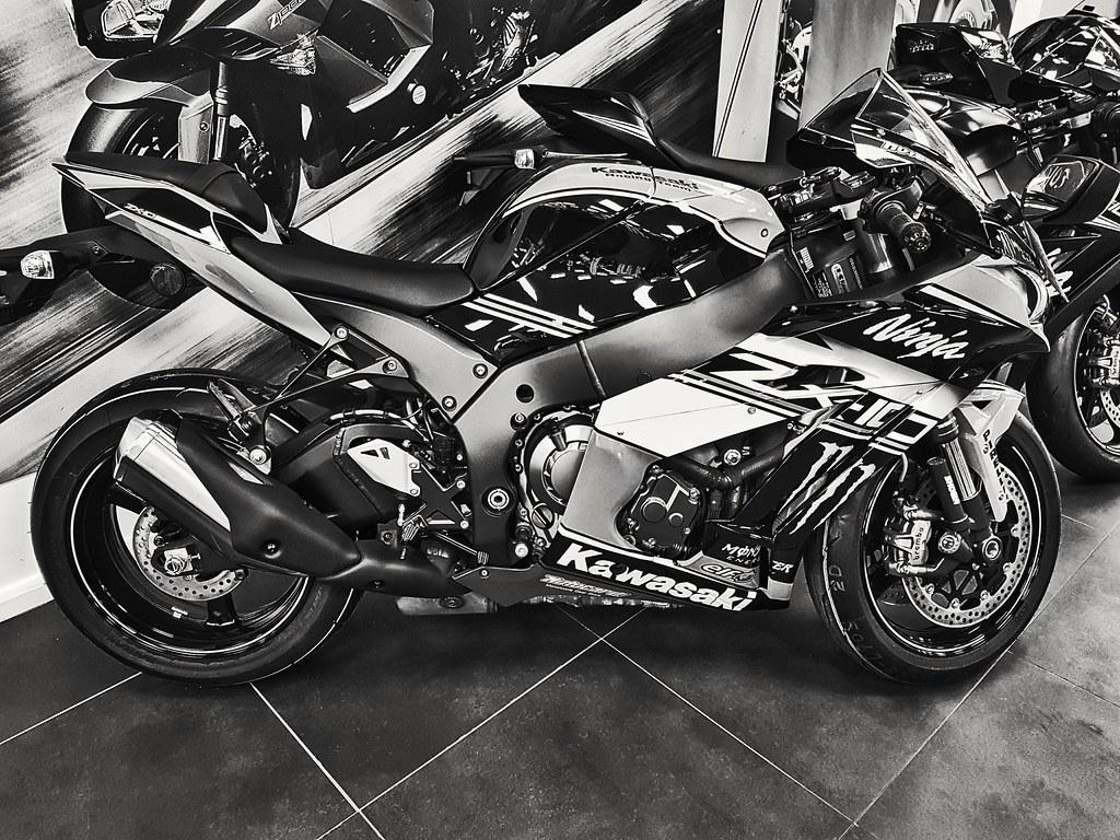 B W Kawasaki Ninja Zx 1000 Mark Wisbey Flickr