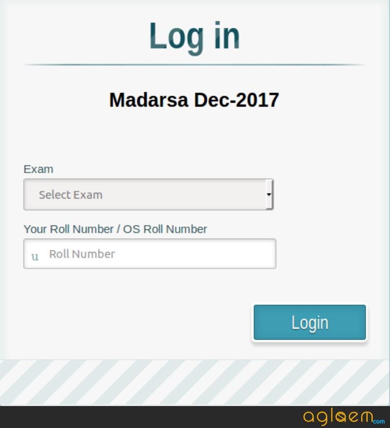 MP Madarsa 12th Result Dec 2017 Released - Check Here