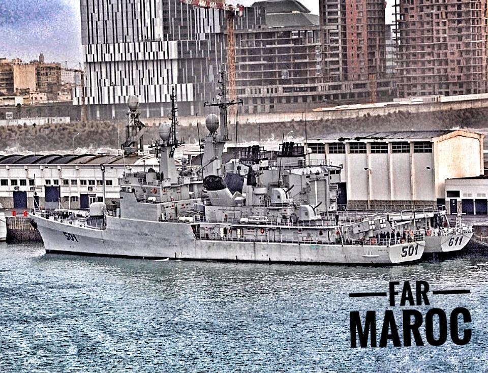 Royal Moroccan Navy Descubierta Frigate / Patrouilleur Océanique Lt Cl Errahmani - Bâtiment École - Page 3 38450423260_fe7612289c_o