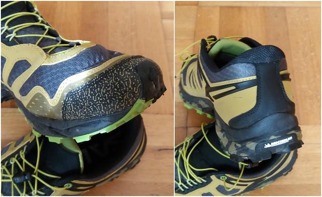 Ισχυρή προστασία τόσο μπροστά με διπλό πλαστικό (toe bumper), όσο και περιμετρικά της φτέρνας και του αστραγάλου!