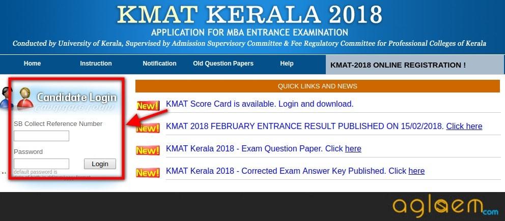 KMAT Kerala 2018 Result For June Exam | Download KMAT Kerala 2018 Scorecard  %Post Title, %Post Category, AglaSem