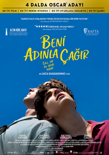 Beni Adınla Çağır - Call Me By Your Name (2018)