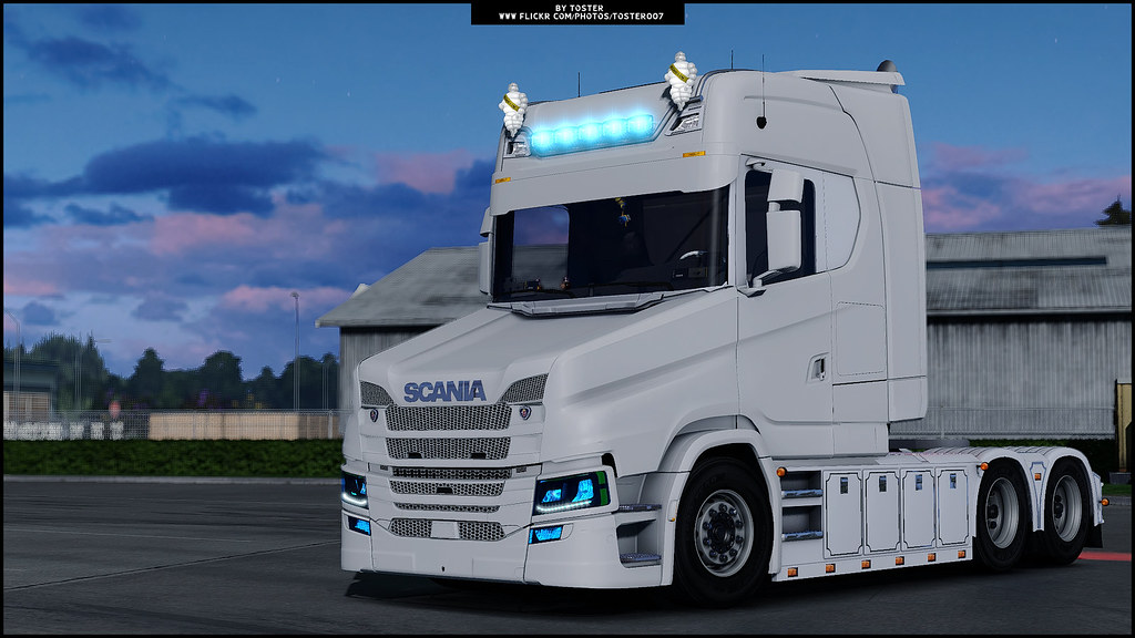 Scania S T V8 Next Gen ETS 2 | TOMORROW WILL BE READY NEW UP… | Flickr