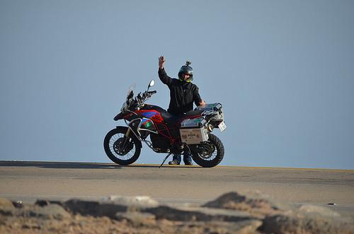 Oman del sud in moto