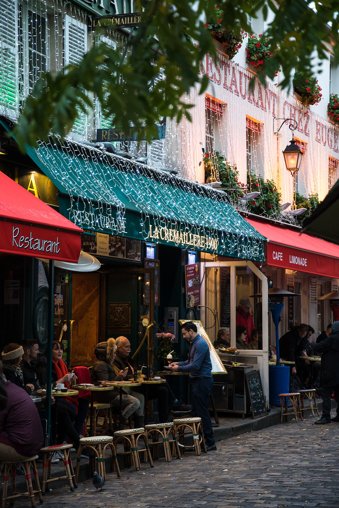Restaurants Of Montmartre Paris Alyssabecker Flickr